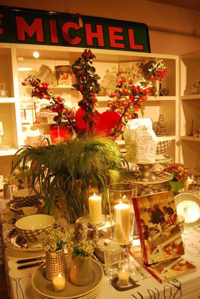 allestimento fiori-tavolo