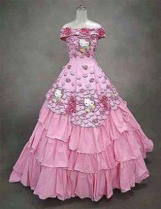 abito sposa Hello Kitty