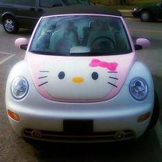 auto sposa Hello Kitty
