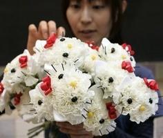 bouquet sposa Hello kitty