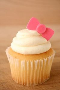 cup cake hello kitty