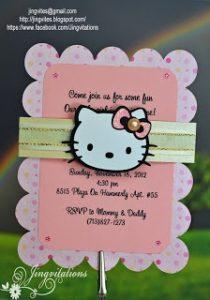 inviti matrimonio Hello Kitty
