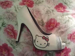 scarpe sposa hello ktty