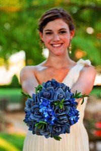 bouquet sposa blujeans