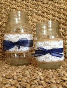 Decorazione matrimonio bluejeans