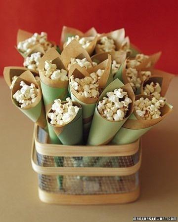 Pop corn bar per matrimonio