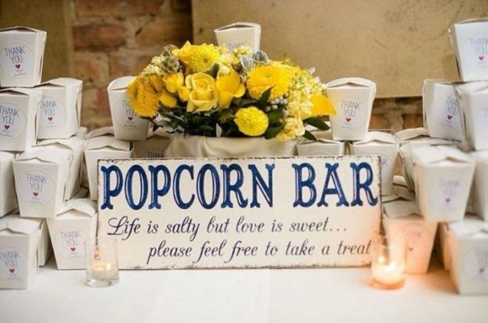 popcorn bar cover