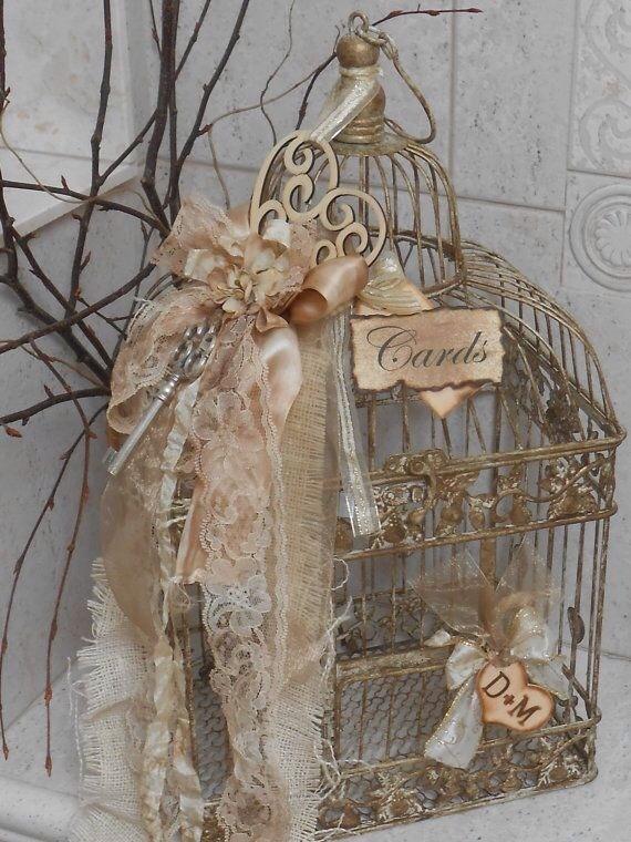 gabbietta per uccelli decorativa