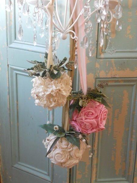 Decorazioni Nozze Vittoriane in Bianco e Rosa