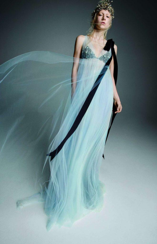 Abito da sposa celeste @vera wang