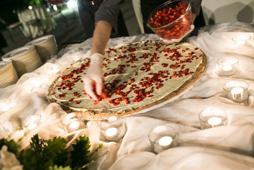 ShowCooking per Torta Nuziale organizzata da Antonella Amato Wedding