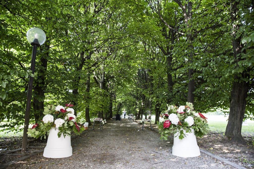 Vialetto Cerimonia Simbolica organizzata da Antonella Amato wedding Planner