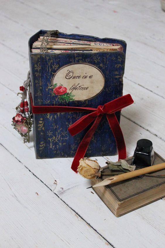 guest book la bella e la bestia con libro