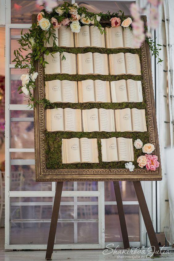 tableau de mariage la bella e la bestia con pagine libro
