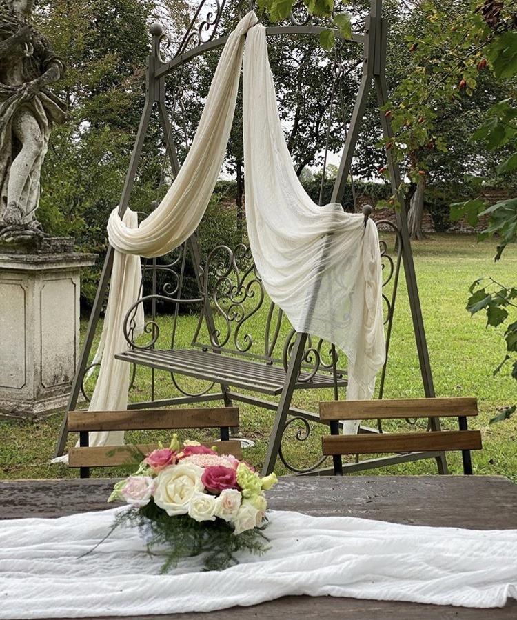 Matrimonio autunnale_particolare allestimento ambienti esterni - wp @Antonella Amato Wedding Planner