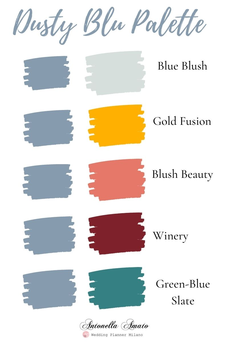 Palette Dusty Blu