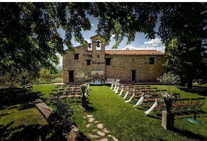 Wine Wedding nell' Abbazia Santi Giacomo e Filippo - Esterno