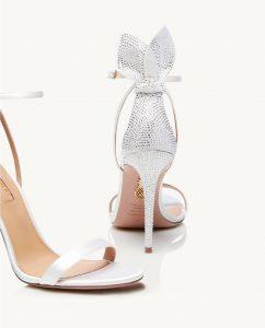 Bow Tie Crystal Sandal 105