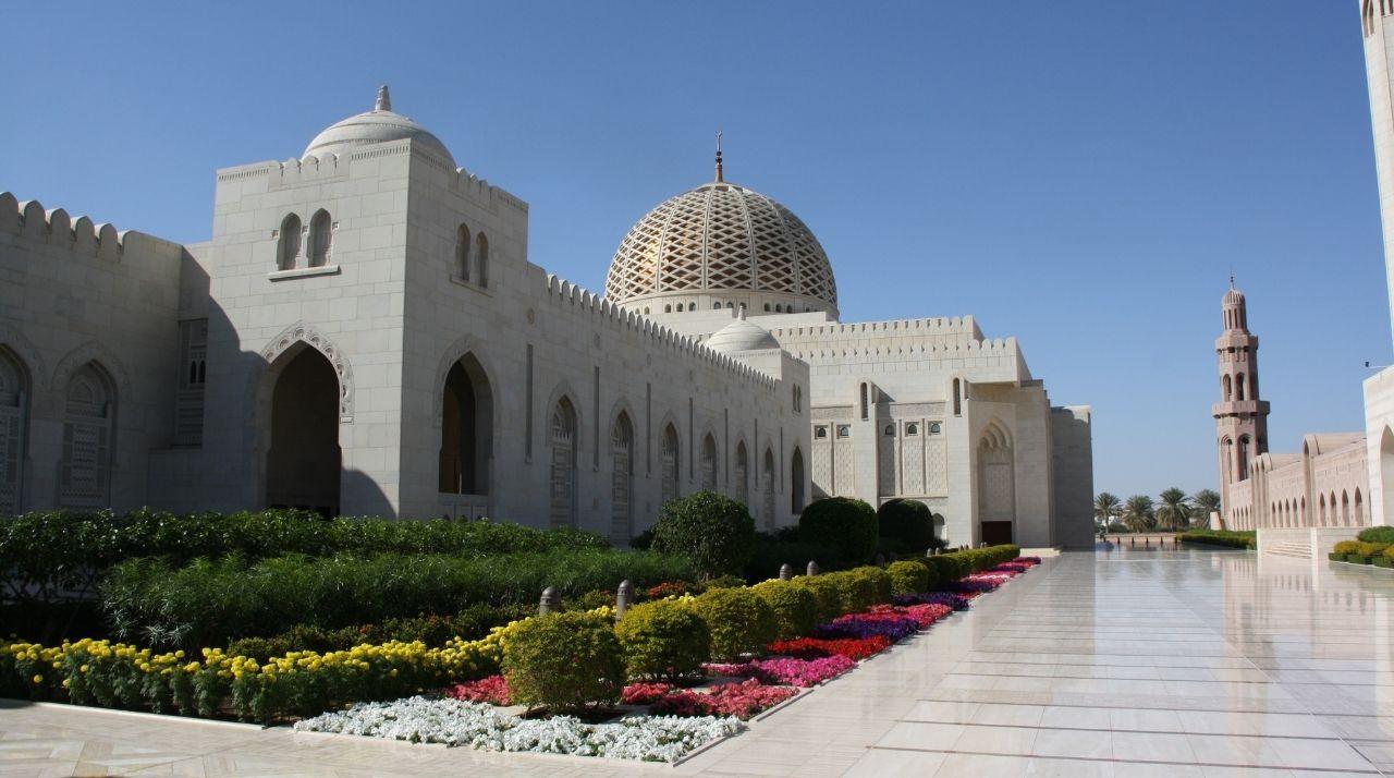 Viaggio di Nozze in Medio Oriente. Grande Moschea del Sultano Qaboos