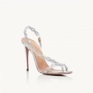 Scarpe da sposa Aquazzura: Heaven Sandal 105