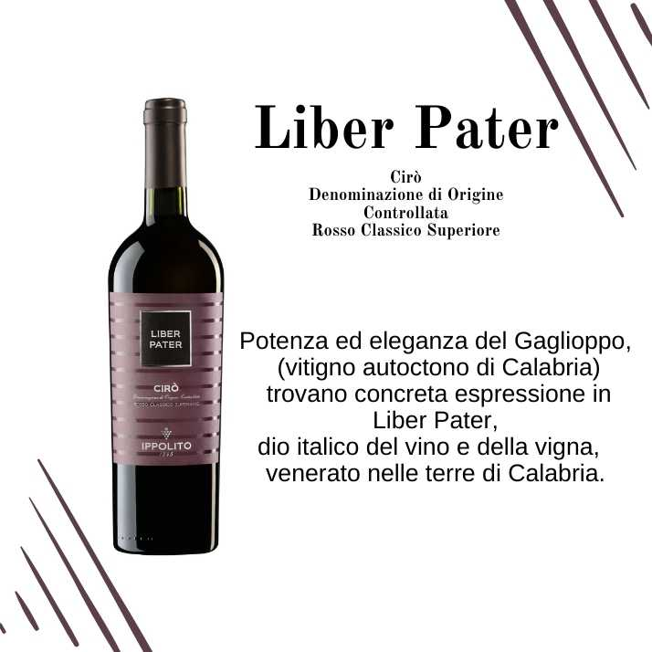Liber Pater - Vino Cirò - Cantina Ippolito