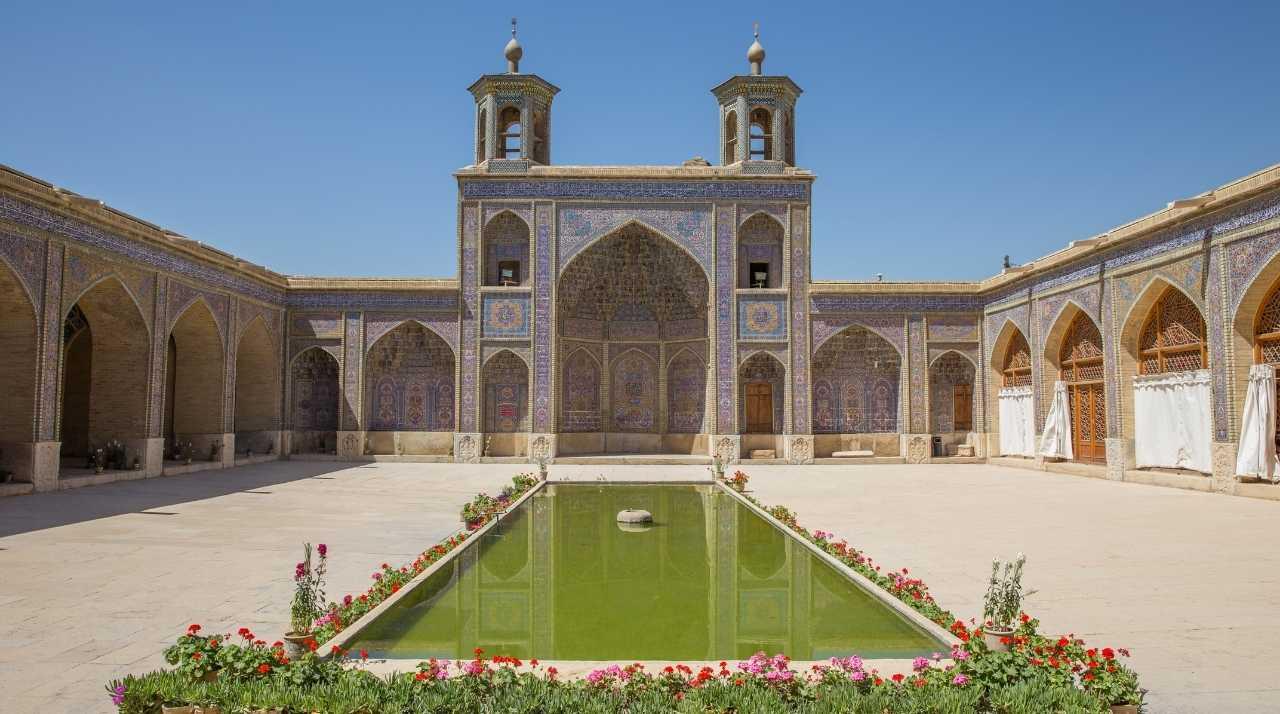 Viaggio di Nozze in Medio Oriente. Moschea di Nasir al Molk