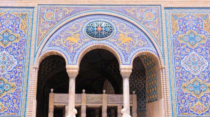 Palazzo Golestan_Particolare