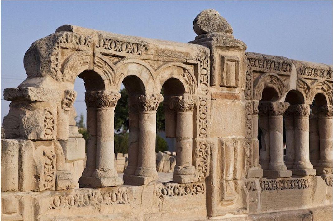 Luna di Miele in Medio Oriente - La Palestina - Palazzo di Hisham