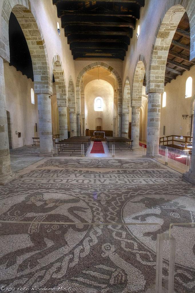 Santa Maria del Patire - Il mosaico