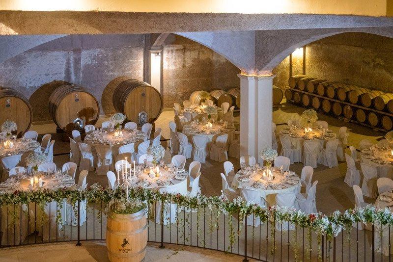 Wine Wedding nella Tenuta Senatore