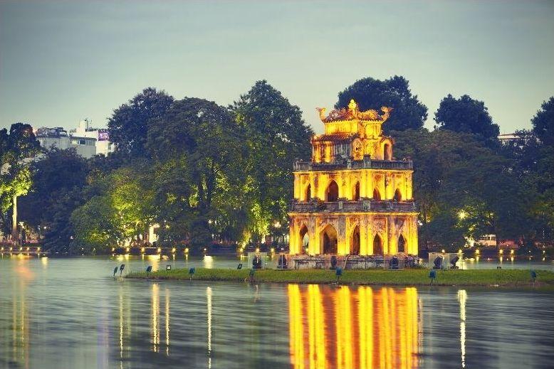 Hanoi - Thap Rua - Torre tartaruga