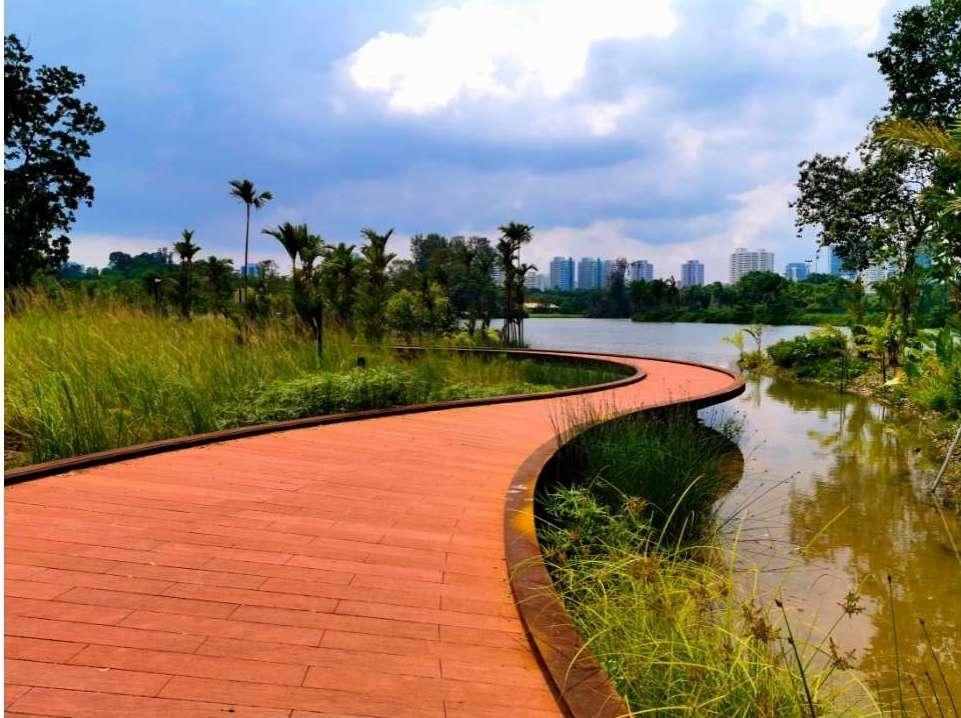 I giardini di Jurong Lake a Singapore