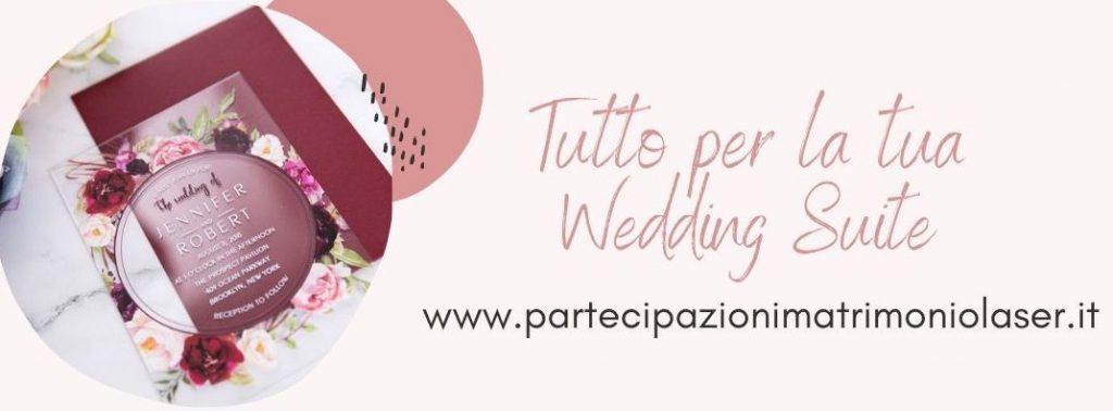 Realizza la tua Wedding Suite
