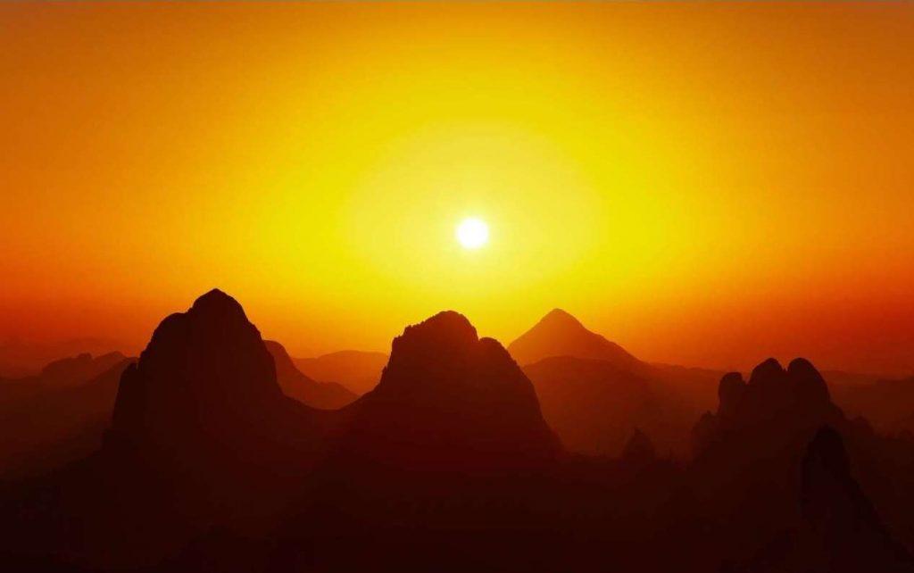 Deserto del sahara_ massiccio dell'Ahaggar_Algeria