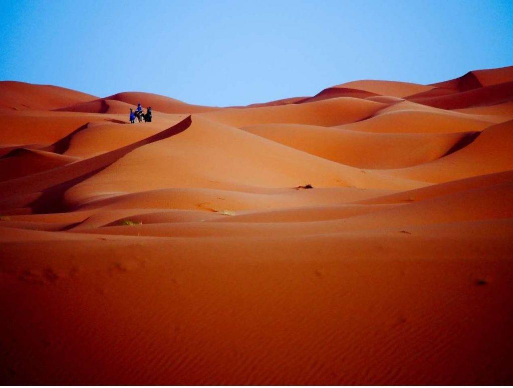 Viaggio di Nozze in Africa . Il deserto del Sahara